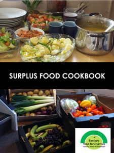 Surplus food cookbook cover